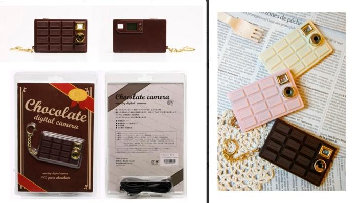 Cámara tableta de chocolate 2