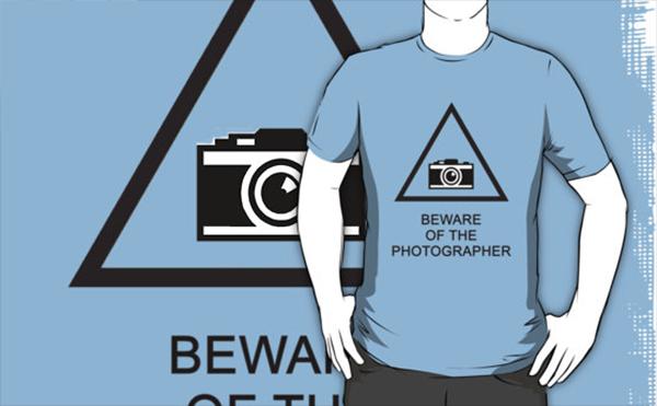 Camiseta Beware of the Photographer 2